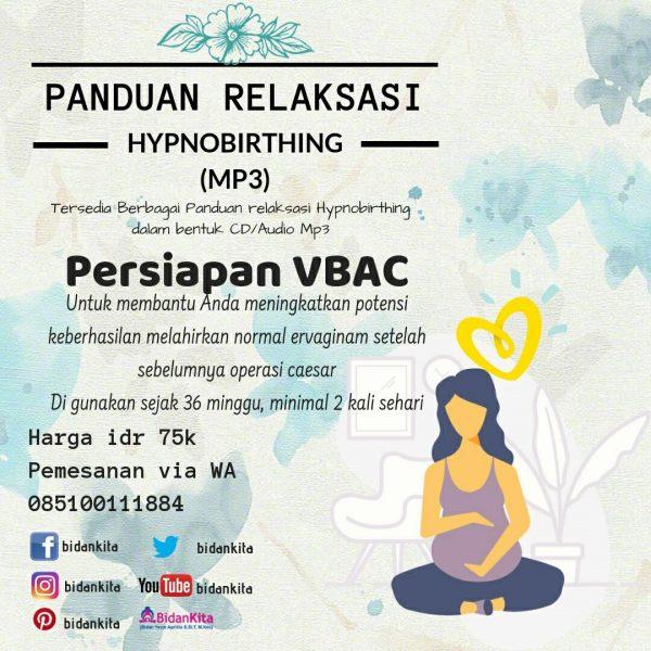 Panduan Relaksasi Hypnobirthing (mp3)