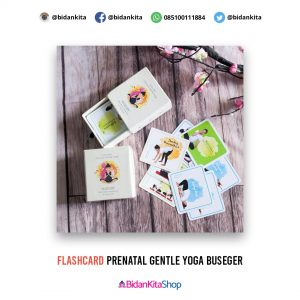 "Flashcard Prenatal Gentle Yoga ""BUSEGER"""