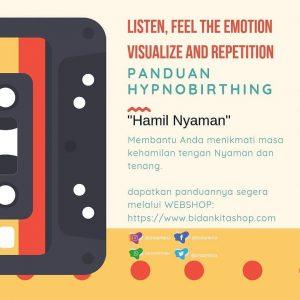 PANDUAN RELAKSASI HYPNOBIRTHING Hamil Nyaman (MP3)