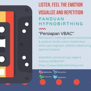 PANDUAN RELAKSASI HYPNOBIRTHING UNTUK VBAC (MP3)