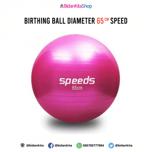 Birthing Ball diameter 65 CM speed (Tinggi Badan 153 cm kebawah dan Berat Badan dibawah 90 kg)