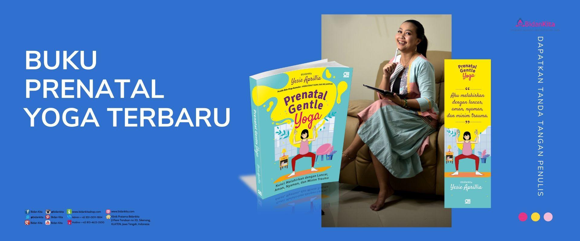 """Buku """"PRENATAL GENTLE YOGA"""""""